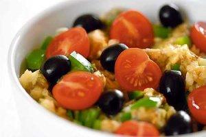 Turecka sałatka z bakłażanów  prosty przepis i składniki