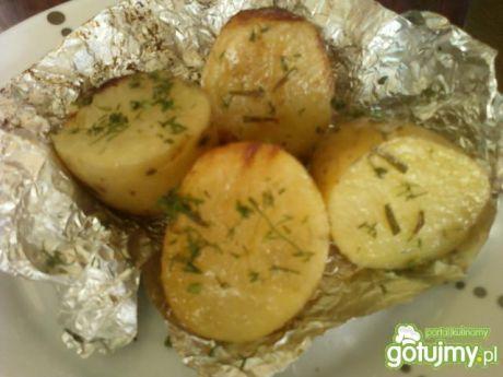 Przepis  młode ziemniaki z grilla przepis