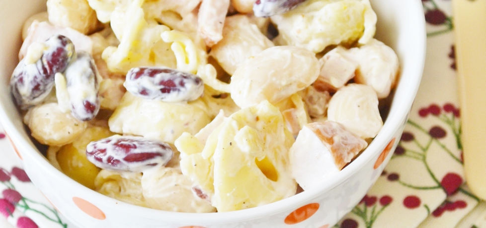 Sałatka makaronowa z curry (autor: czekoladkam)