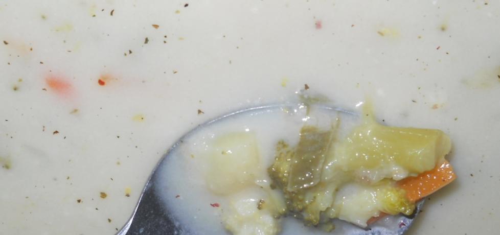 Zupa brokułowa z kaszą (autor: ewelinapac)