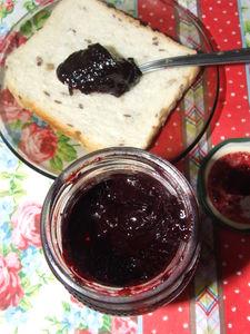 Frużelina jagodowa – z mrożonych owoców