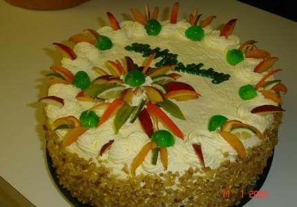 Tort biały