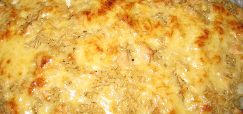 Zapiekanka z kurczakiem, kalafiorem i ryżem (autor: hahanka ...