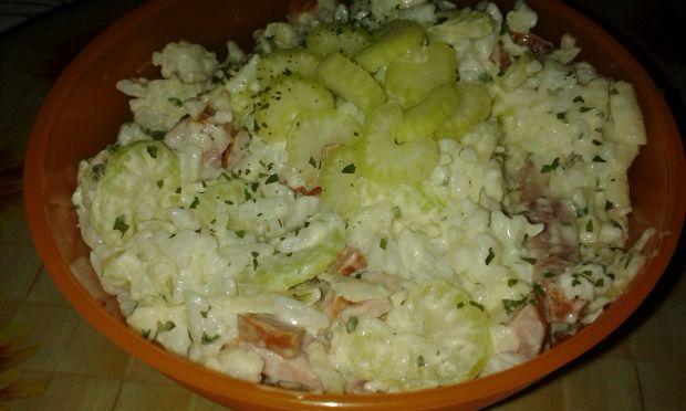 Przepis  sałatka ryżowa wg beaty przepis