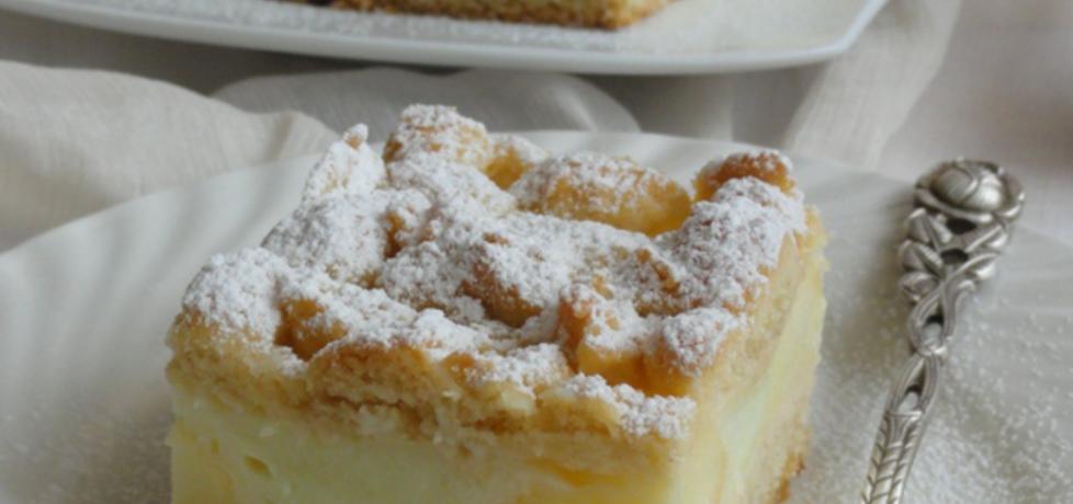 Ciasto jabłkowo-budyniowe (autor: joanna30)