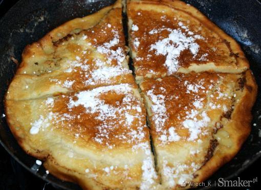 Pancake  amerykański omlet na śniadanie