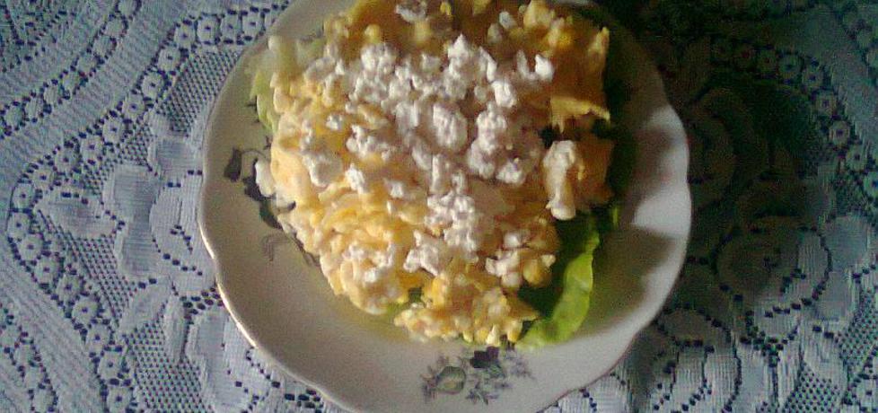 Jajecznica z białym serem (autor: halina17)