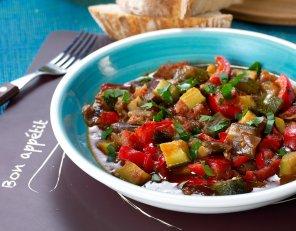 Ratatuja, czyli duszone warzywa  prosty przepis i składniki