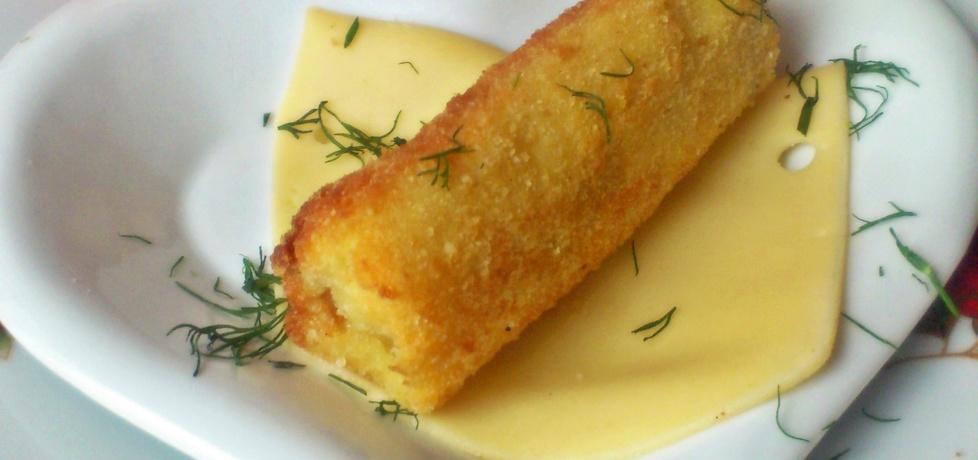 Krokiety z chleba tostowego (z serem i szynką) (autor: diana ...
