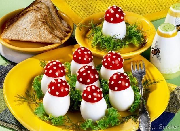 Jajka-grzybki