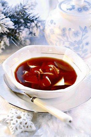 Zupa grzybowa z makaronem  prosty przepis i składniki