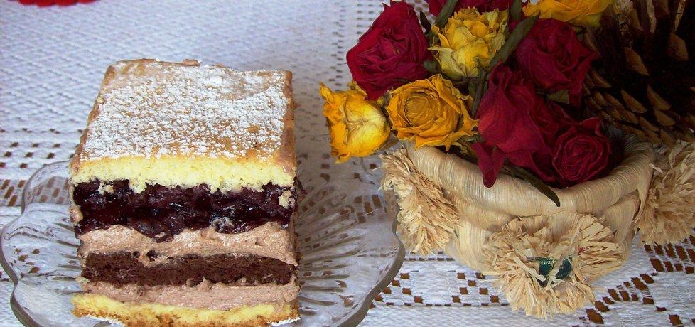 Ciasto czekoladowe z wiśniami (autor: agnieszka8725 ...