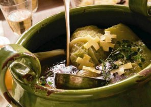 Zupa krzyżykowa  la soupo de crouset