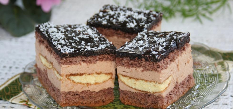 Ciasto biszkoptowe z likierem kawowym (autor: skotka ...