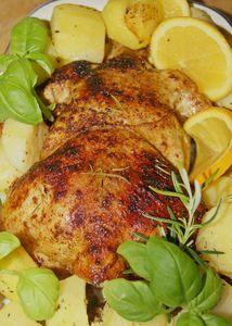 Aromatyczny kurczak w cytrusach