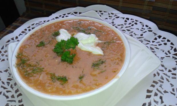 Przepis  zupa pomidorowa z ryżem przepis