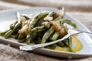 Fasolka szparagowa z patelni  prosty przepis i składniki