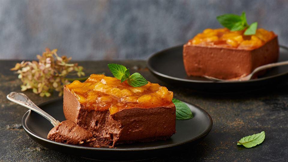 Przepis na deser czekoladowo-pomarańczowy