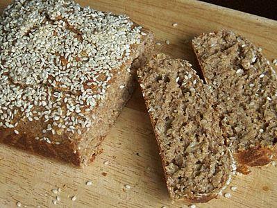 Kukurydziany chleb bez mąki