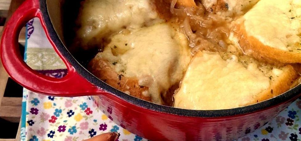 Francuska zupa cebulowa z grzankami (autor: leonowie ...
