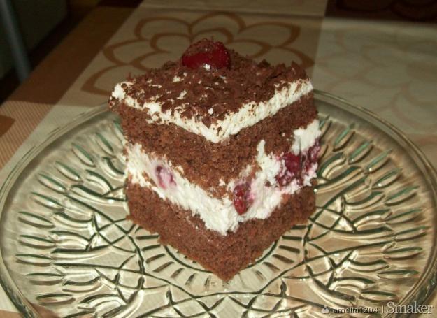 Ciasto wiśniowo-czekoladowe