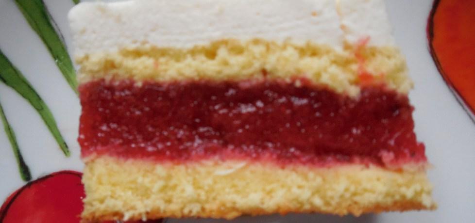 Placek z truskawkowym musem (autor: cranberry)
