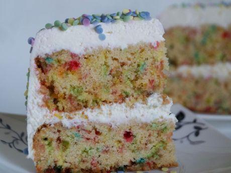 Przepis  tort urodzinowy z niespodzianką przepis