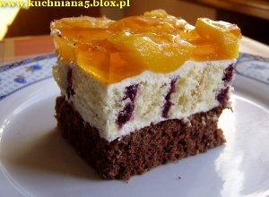 Ciasto kolorowe oczy  prosty przepis i składniki