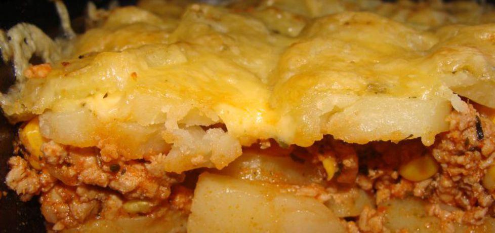 Meksykańska zapiekanka ziemniaczana z mięsem mielonym (autor ...