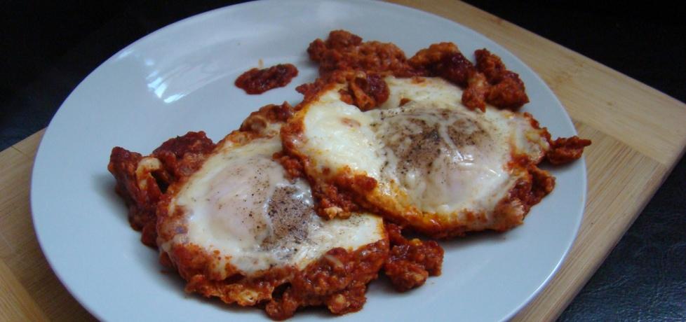Jajka sadzone na pomidorowej pierzynce (autor: dorian ...