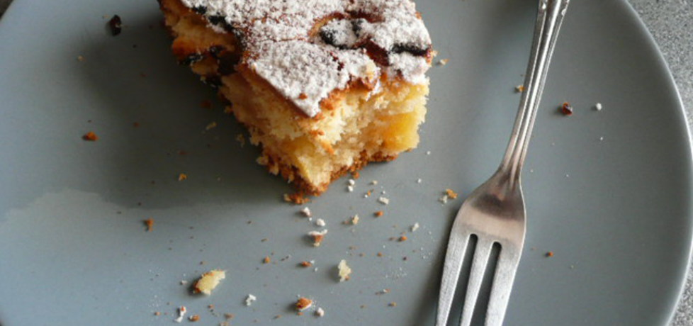Ciasto maślane z owocami elfi (autor: elficzna)