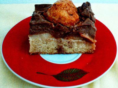 Ciasto z karmelizowanymi gruszkami