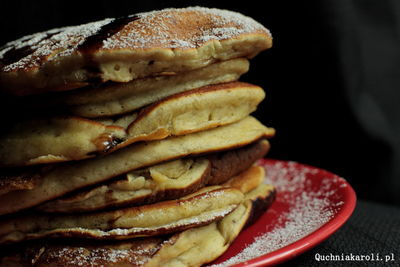 Bananowe pancakes na maślance.