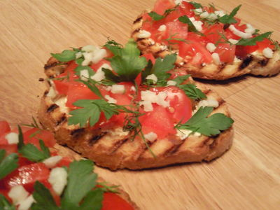 Grillowana bruschetta