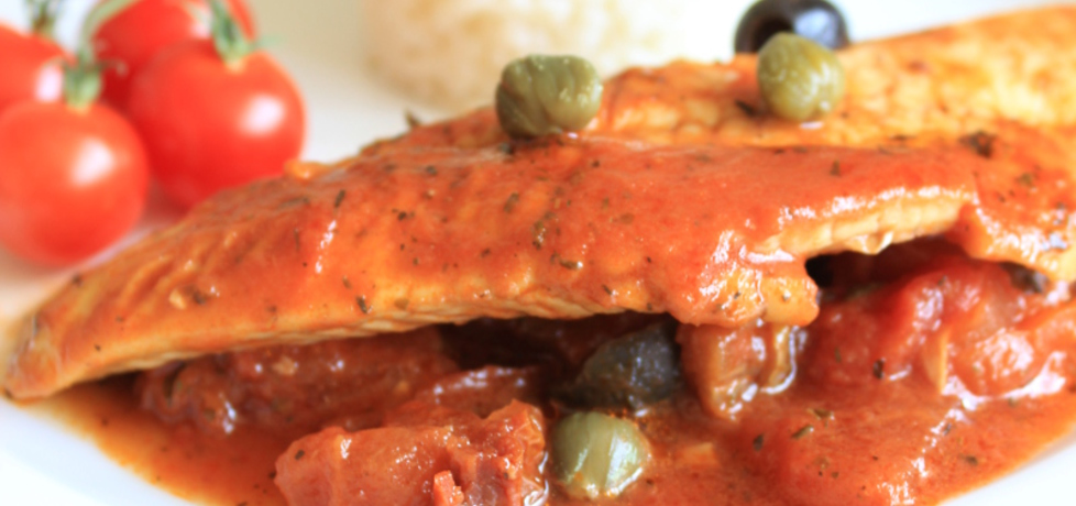Ryba w pomidorach z oliwkami i kaparami (autor: wedith1 ...