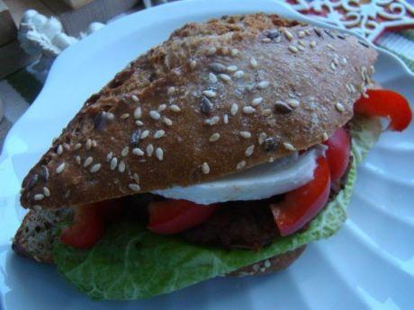Przepis  ala hamburger  zdrowy przepis