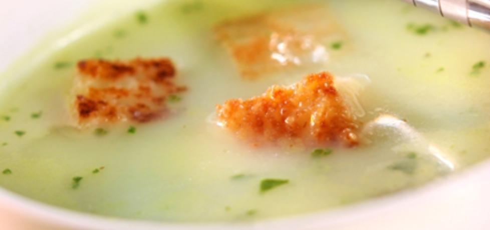 Zupa czosnkowa ze szpinakiem (autor: doradca