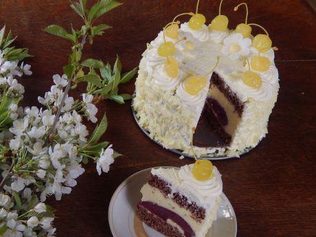 Przepis  tort ''kwitnący sad'' przepis