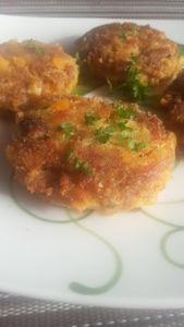 Kotlety siekane z mięsa i marchwi gotowanej w rosole ...