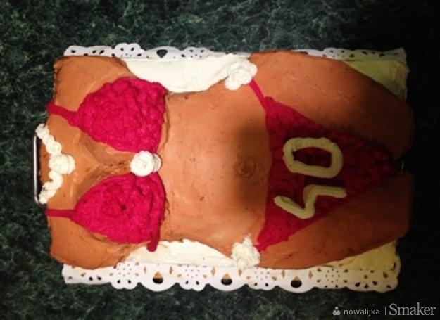 Tort na 40-stke męża- babka