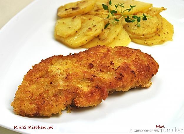 Filety z kurczaka w podwójnej panierce
