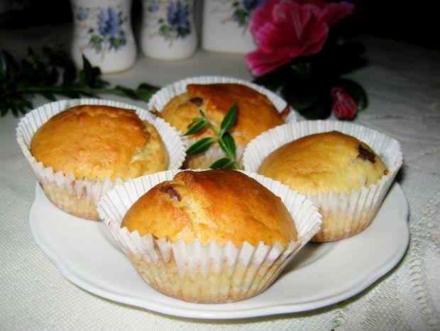 Przepis  muffinki z nutką pomarańczy przepis