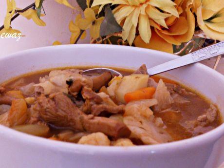 Przepis  zupa warzywno  mięsny mix przepis