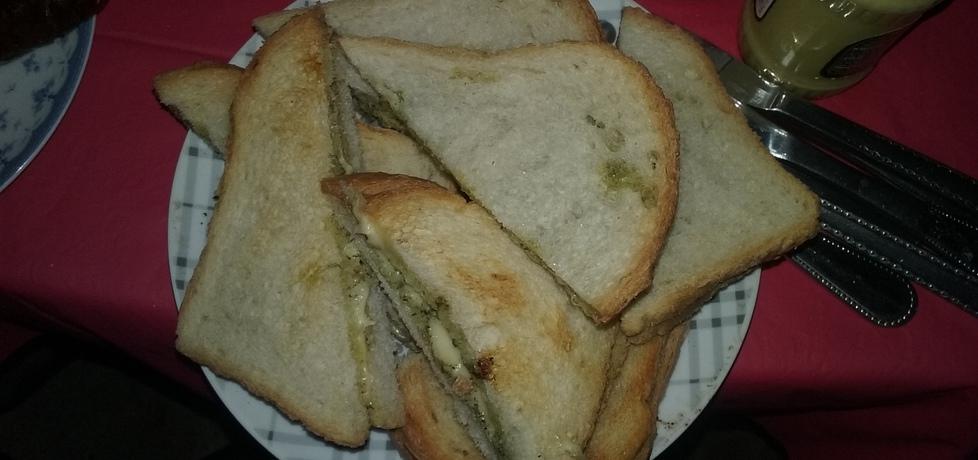Grillowany chleb z masełkiem ziołowym (autor: magdalenamadija ...