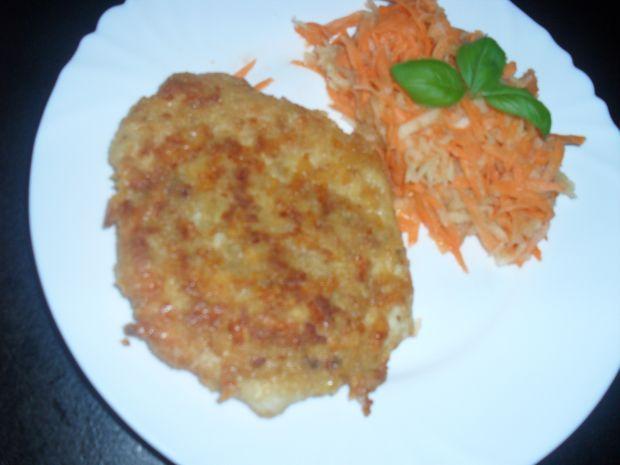 Przepis  filet z kurczaka w panierce z serem przepis