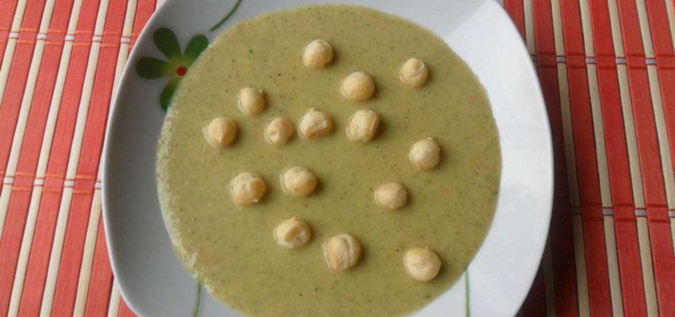 Zupa krem z zielonego groszku (autor: renatazet)