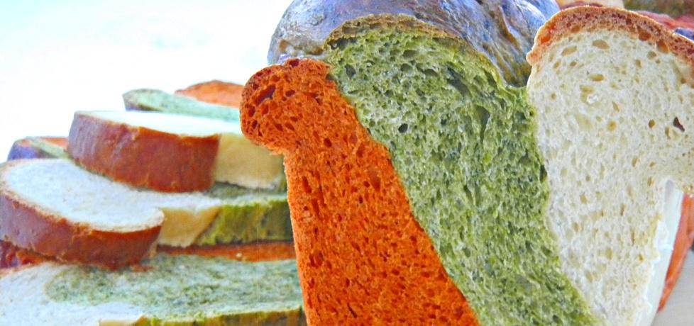 Chleb ''trzy kolory'' (autor: joanna83)