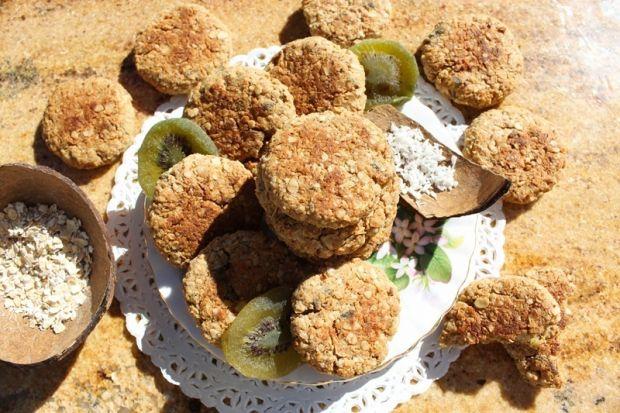Przepis  wegańskie ciastka owsiano