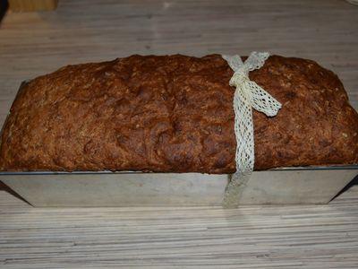 Szybki błyskawiczny chleb z ziarnami zdrowy dla leniwych jelit