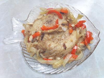 Fileciki rybne w delikatesowym sosie